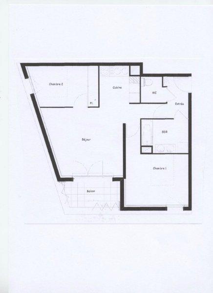 Appartement, 61 m² Quart…