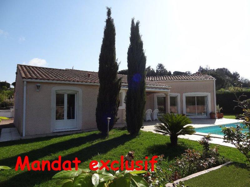 Villa chambre carcassonne piscine immojojo for Piscine grazailles