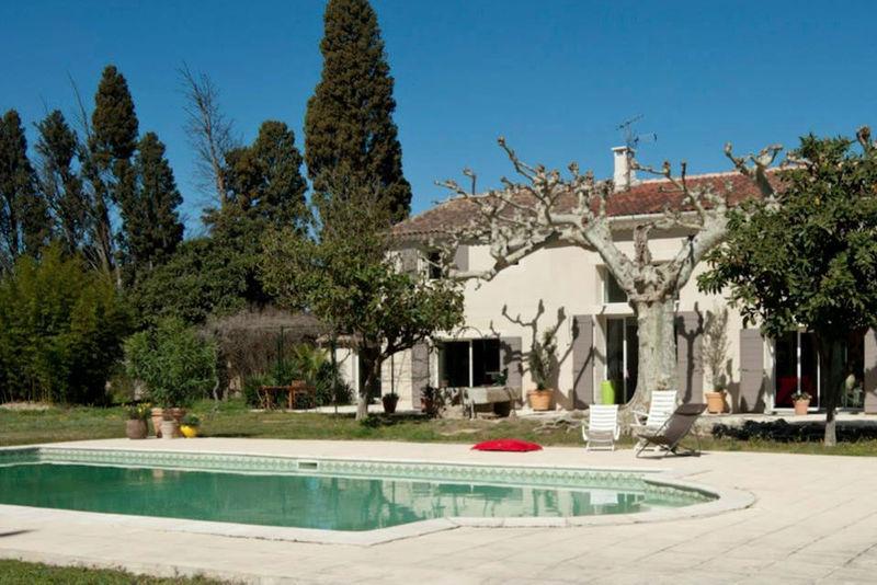 Maison mas hectares piscine immojojo for Prix piscine 12x6