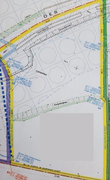 Terrain, 775 m² Affai…