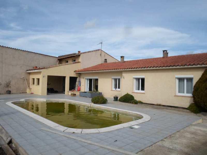 Maison trebes 11800 piscine immojojo for Jardin 400m2 piscine