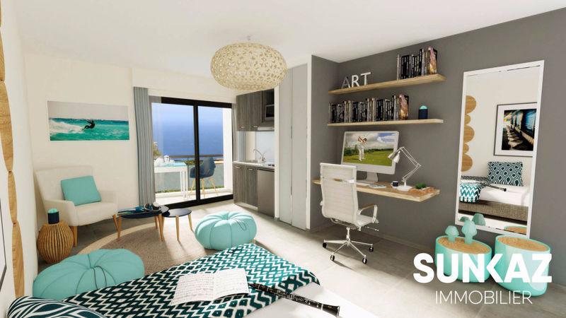Appartement, 26 m² Les A…