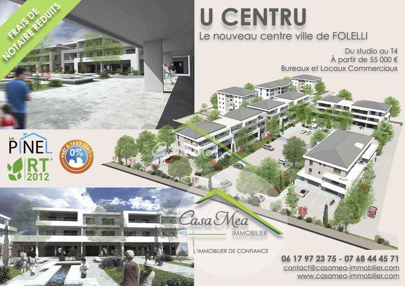 Appartement, 43 m² U CEN…