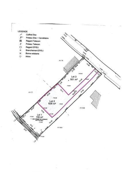 Terrain, 630 m² L'AGE…