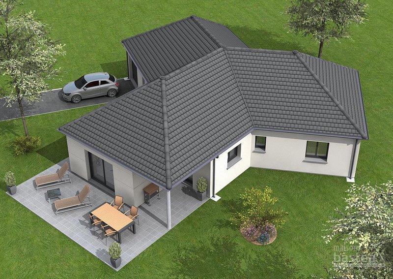 Exemple prix construction maison immojojo - Prix construction maison neuve 200m2 ...
