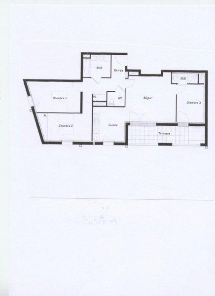 Appartement, 79 m² Quart…