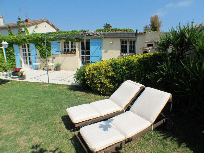 Antibes 2 rez jardin terrasse immojojo for Antibes le jardin
