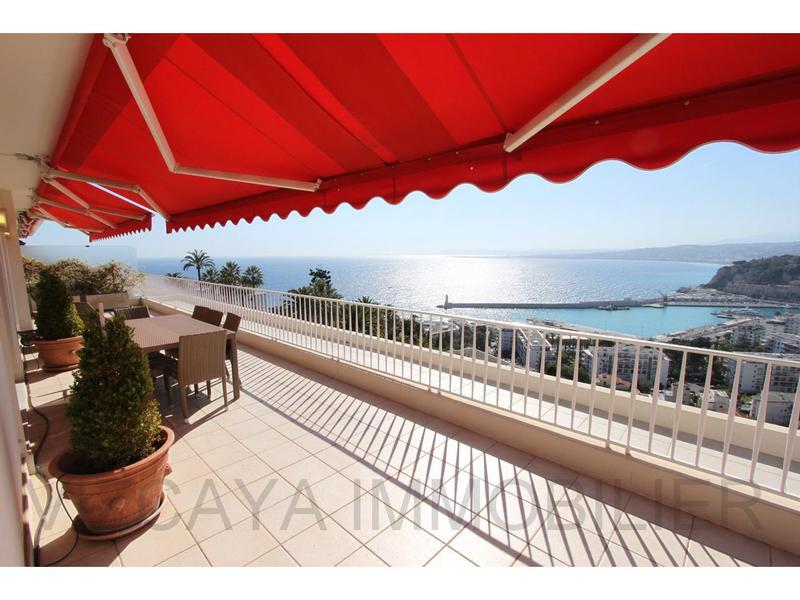 1 terrasse dernier etage nice piscine immojojo for Piscine olympique nice
