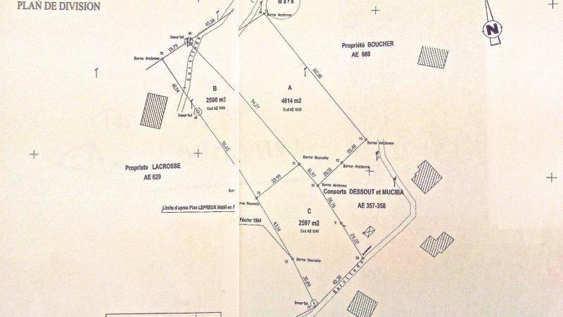 Terrain, 7 210 m² Terra…