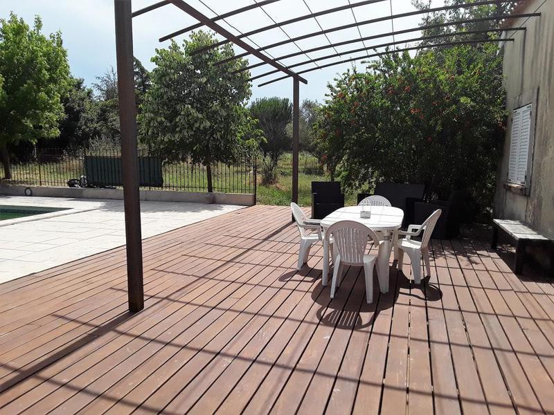 Maison cournonterral herault piscine immojojo - Piscine de cournonterral ...