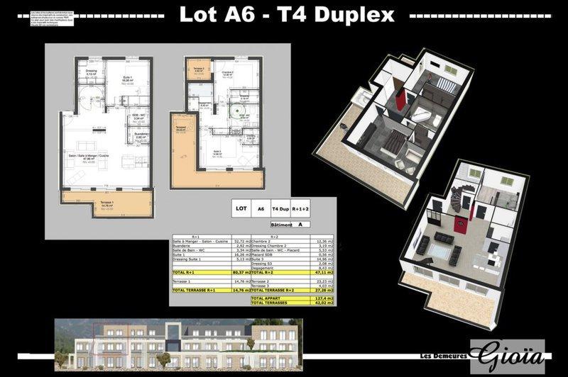 Appartement, 127 m² uxueu…