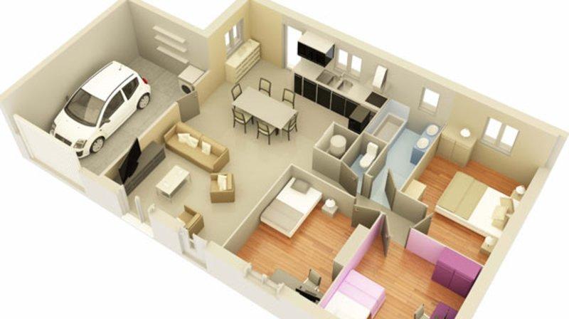 Maison neuve, 85 m² Votre…