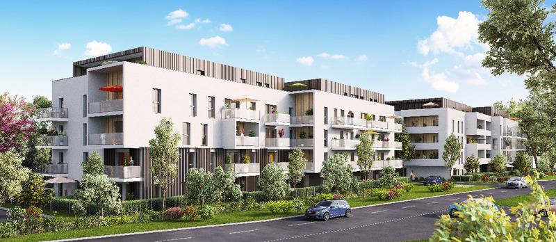 Appartement neuf, 57,6 m² A mi-…
