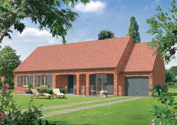Maison plain pied evreux garage immojojo for Achat maison neuve evreux