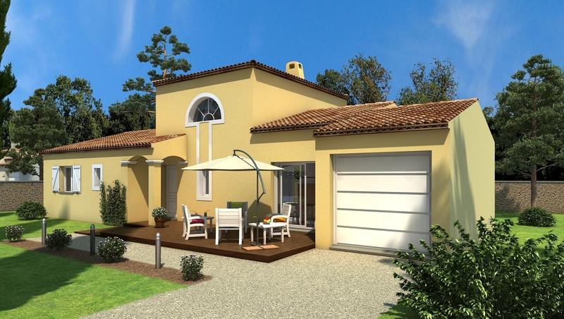 Maison neuve, 110 m² GIGNA…