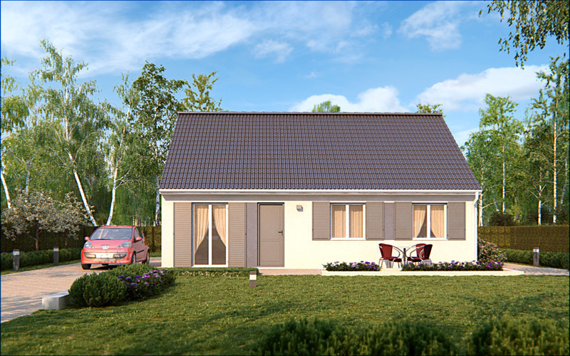 Maison neuve, 77 m² Idéal…