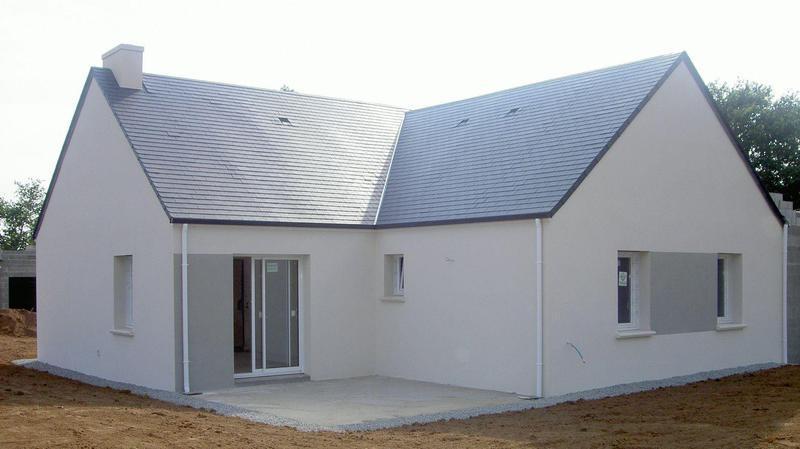 Maison bois 100 m2 jardin immojojo for Prix moyen m2 construction neuve rt 2012