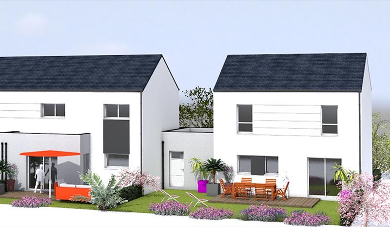 Maison longere heric 44 immojojo for Acheter maison neuve 44