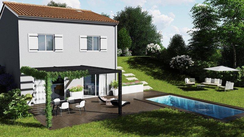Achat terrain ouillas immojojo for Maison neuve plus terrain