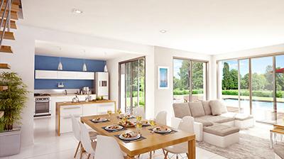 prix maison toit plat immojojo. Black Bedroom Furniture Sets. Home Design Ideas