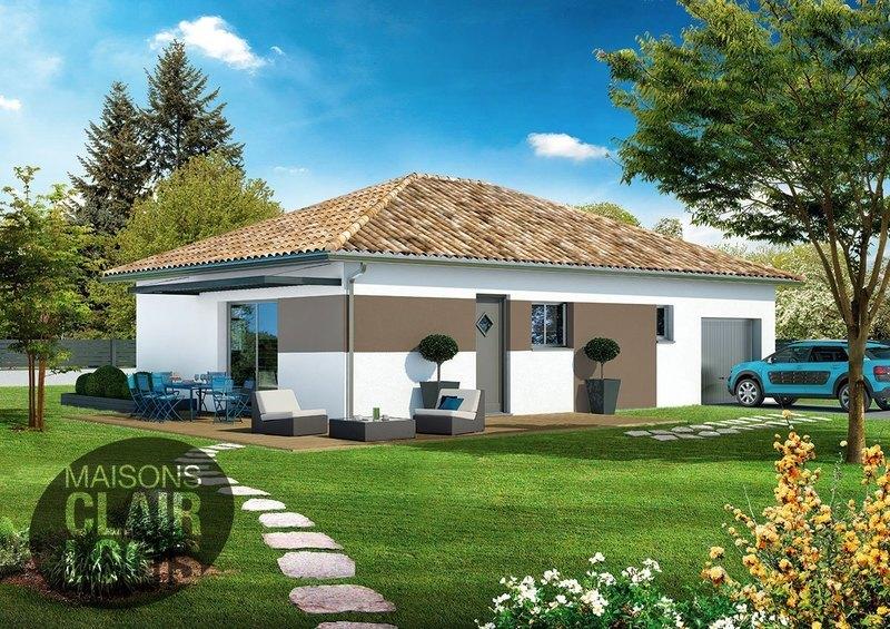 Maison neuve, 80 m² Sur u…