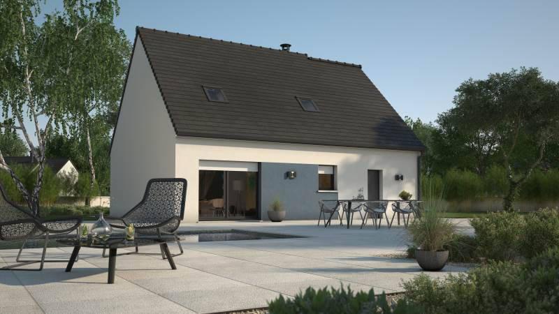 Maison neuve, 76 m² Une m…