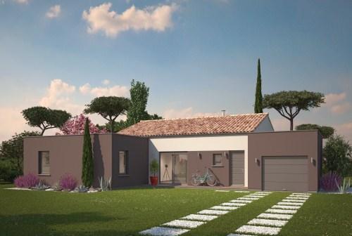 Maison neuve, 91 m² Volum…