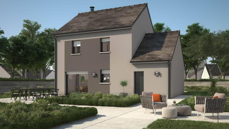 Maison neuve, 91 m² Const…