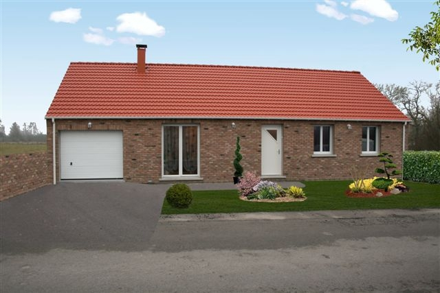 Maison, 80 m² Plain…
