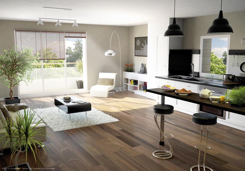 Appartement, 59,5 m² Résid…