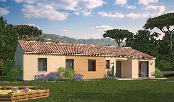Maison neuve, 74 m² Terra…