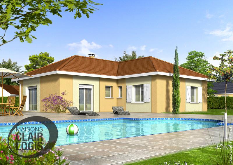 Maison neuve, 91 m² Situé…