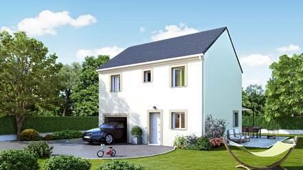 Maison neuve, 87 m² VERNE…
