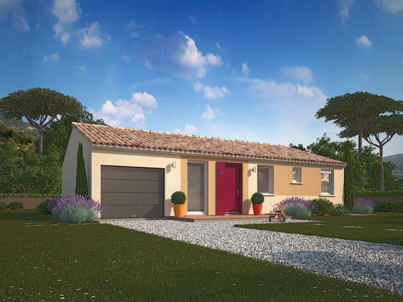Maison neuve, 89 m² Terra…