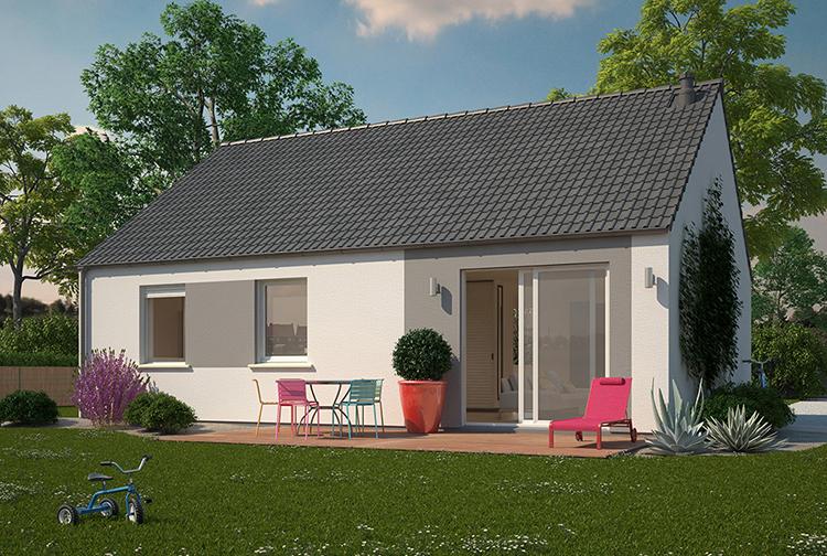 Maison neuve, 70 m² TERRA…