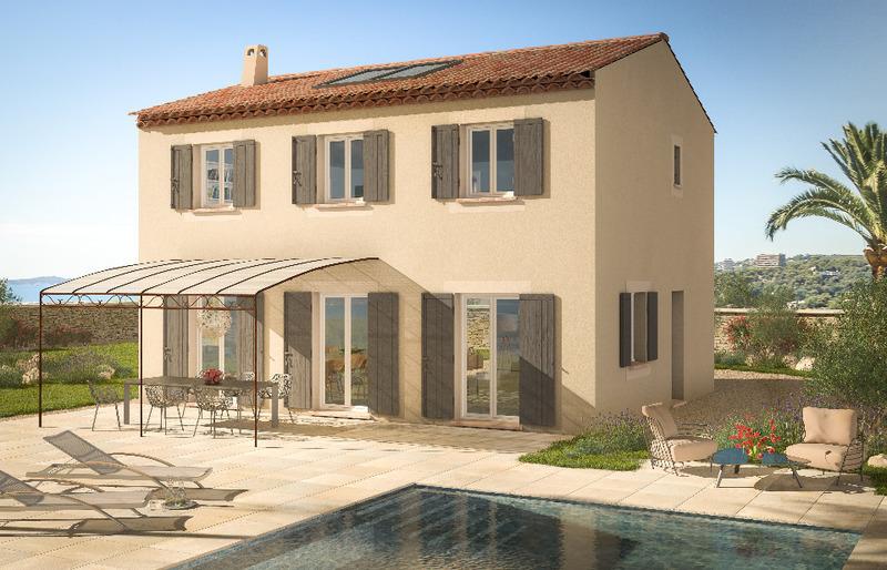 Maison neuve, 76 m² Azur …