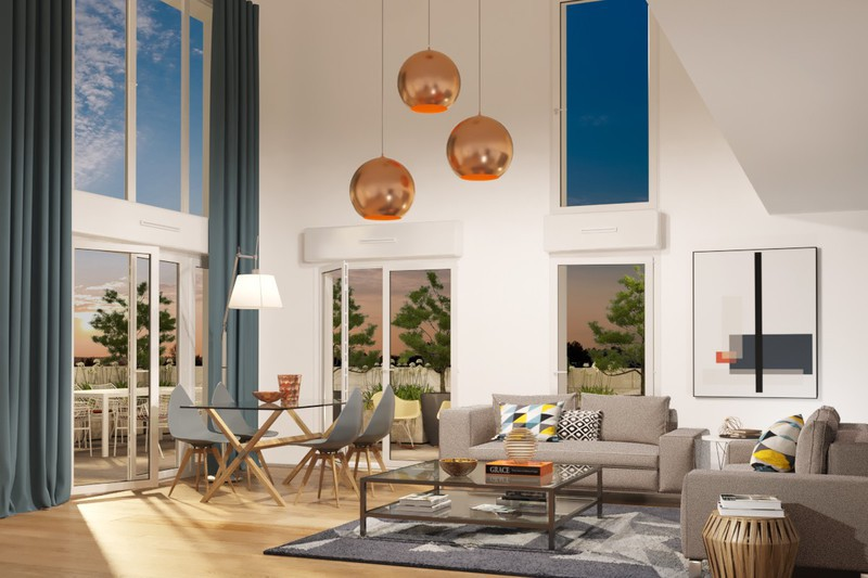 Appartement neuf, 67,8 m² Au cœ…