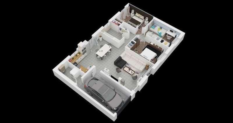 Plan maison combles amenageables immojojo for Garage vendeuvre sur barse