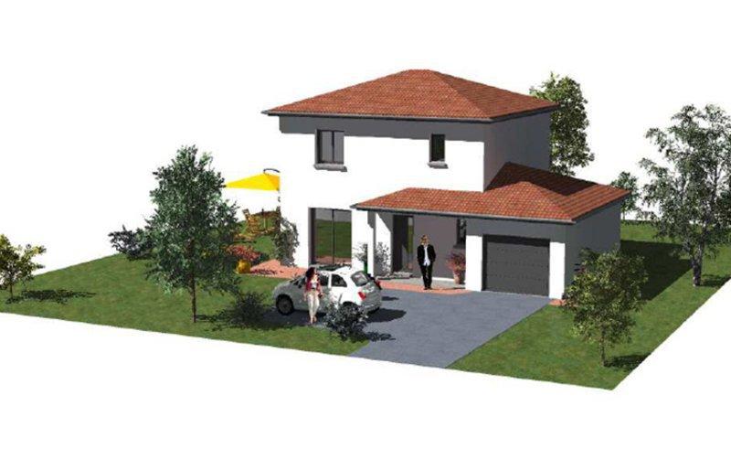 Achat terrain la serraz immojojo for Achat maison neuve 26