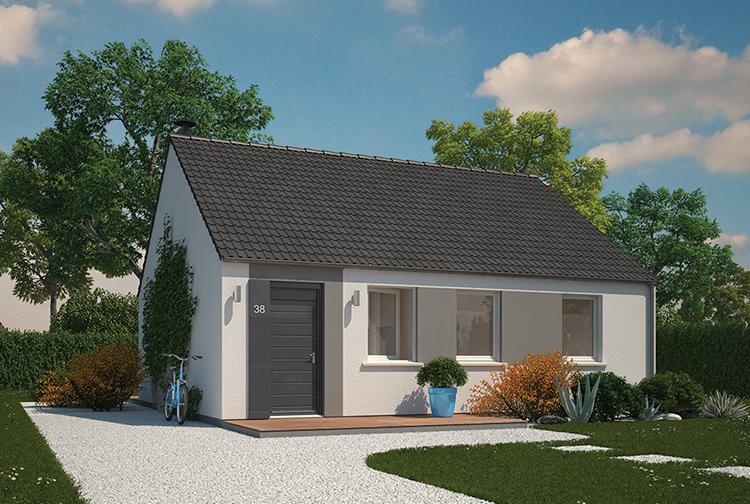 Maison neuve, 70 m² Beau …