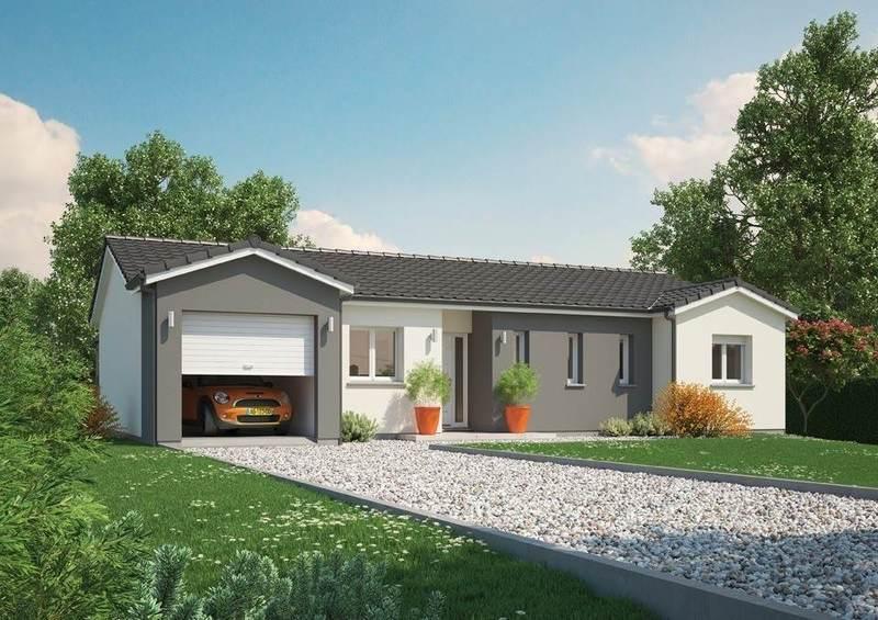 Maison neuve, 101 m² Ce mo…