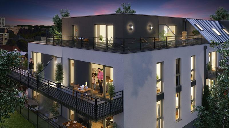 Appartement neuf, 60 m² Au cœ…