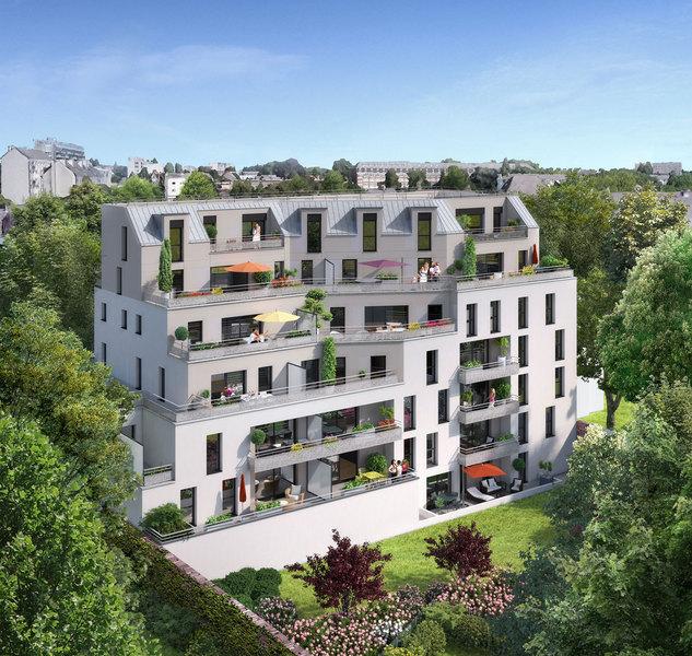Appartement rennes rez jardin balcon immojojo for Jardin balcon appartement
