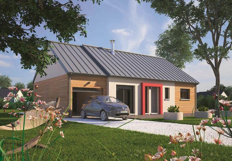 Maison neuve, 70 m² Archi…