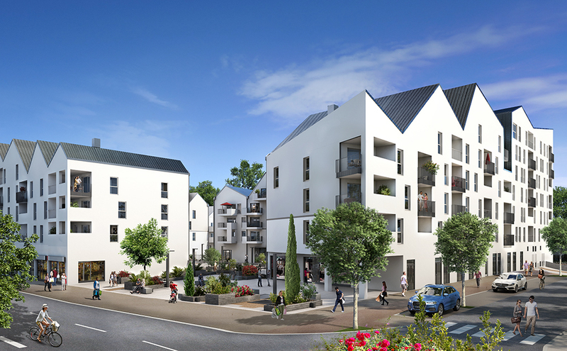Rez chaussee pau parking immojojo - Achat appartement occupe ...