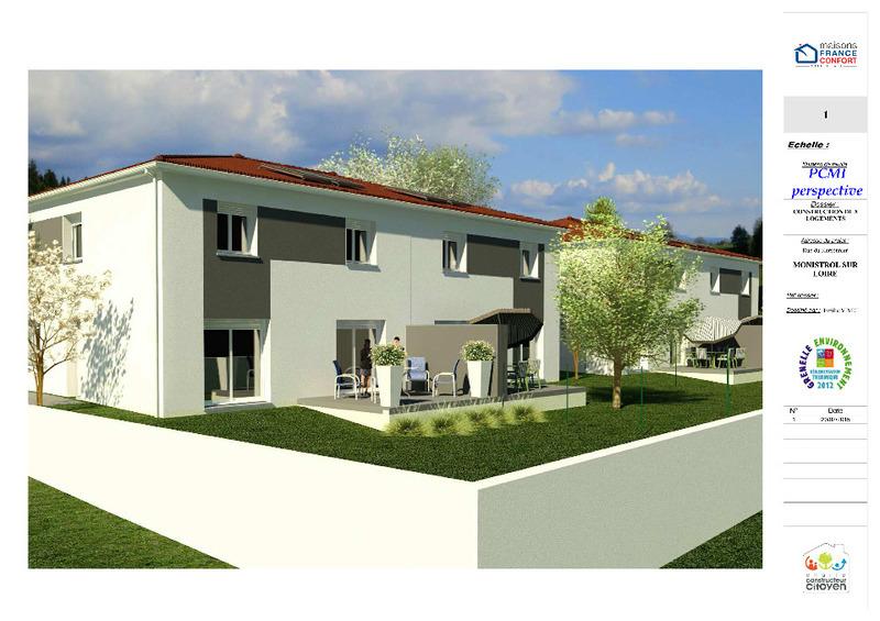 Achat terrain monistrol sur loire immojojo for Achat maison neuve 14