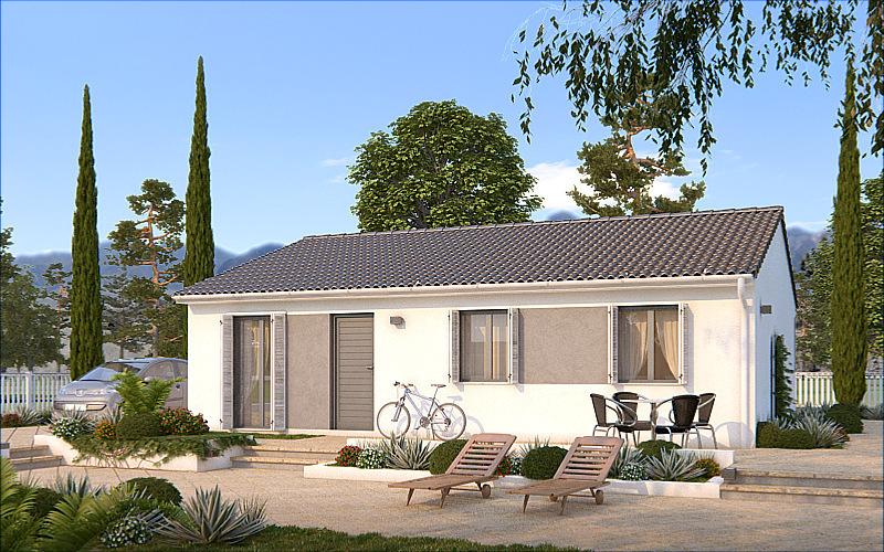 construction maison economique bois jardin immojojo. Black Bedroom Furniture Sets. Home Design Ideas