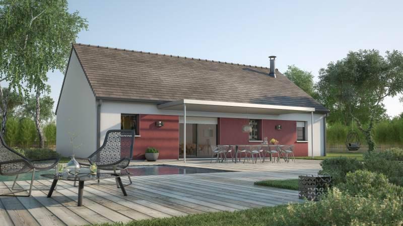 Maison neuve, 93 m² Ce mo…