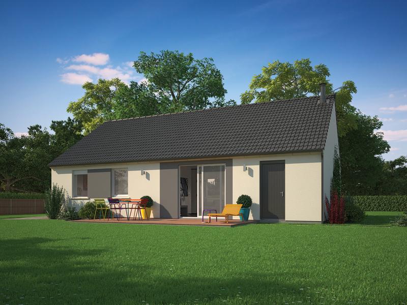 Maison neuve, 89 m² Parce…