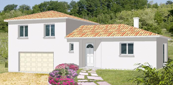 Maison neuve, 87 m² Au co…
